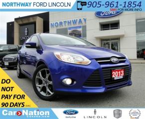Used 2013 Ford Focus SE | LEATHER SEATS | SYNC | SUN ROOF | for sale in Brantford, ON