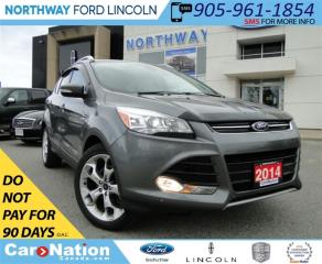 Used 2014 Ford Escape Titanium | LOW KM | NAV | LEATHER | PANO ROOF | for sale in Brantford, ON