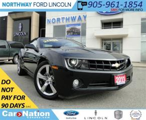 Used 2011 Chevrolet Camaro 1LT | CONVERTIBLE | HEATED LEATHER | for sale in Brantford, ON