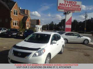 Used 2012 Nissan Versa Sedan SV for sale in Kitchener, ON