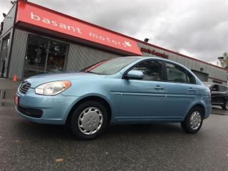 Used 2010 Hyundai Accent Low KMs, Backup Camera, Fuel Efficient!! for sale in Surrey, BC