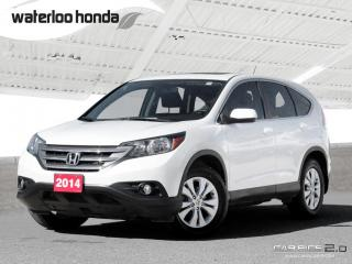 Used 2014 Honda CR-V EX Back Up Camera, FWD, Heated Seats and more! for sale in Waterloo, ON