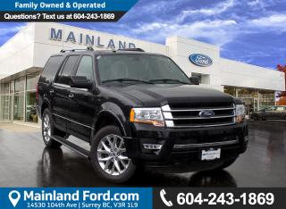 Used 2017 Ford Expedition Limited NO ACCIDENTS for sale in Surrey, BC