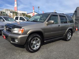 Used 2003 Nissan Pathfinder LE Coquitlam Location - 604-298-6161 for sale in Langley, BC