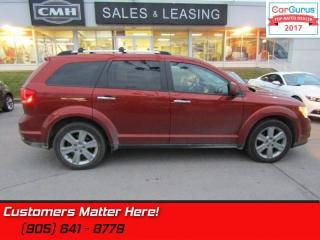 Used 2013 Dodge Journey R/T  - Leather Seats -  Bluetooth for sale in St Catharines, ON