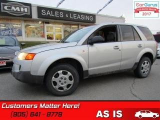 Used 2005 Saturn Vue AS TRADED *UNCERTIFIED* for sale in St Catharines, ON