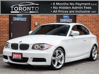 Used 2011 BMW 1 Series 135 i+Navigation+Sunroof+Harman kardon+Parking aid for sale in North York, ON