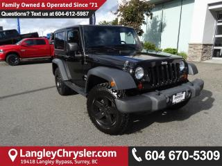 Used 2012 Jeep Wrangler Sport *ACCIDENT FREE*ONE OWNER*LOCAL BC JEEP* for sale in Surrey, BC