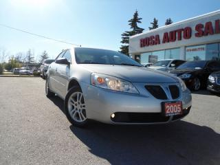 Used 2005 Pontiac G6 4 NEW BRAK NO ACCIDENTS PL,PM,PW SAFETY E TEST INC for sale in Oakville, ON
