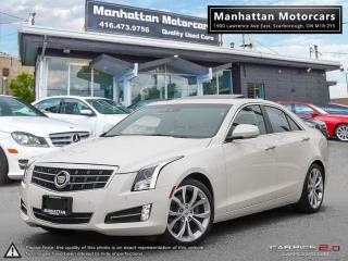 Used 2013 Cadillac ATS 2.0T PERFORM PKG|NAV|CAMERA|PHONE|ROOF|WARRANTY for sale in Scarborough, ON