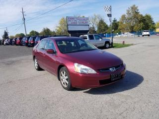 Used 2005 Honda Accord EX V6 for sale in Komoka, ON