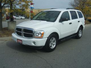 Used 2004 Dodge Durango SLT 4X4 8 PASSENGER for sale in York, ON