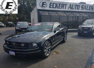 Used 2008 Ford Mustang WITH UPGRADED GT RIMS for sale in Barrie, ON