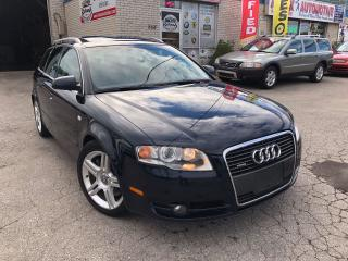 Used 2006 Audi A4 2.0T Avant_Leather_Sunroof_Low KMS for sale in Oakville, ON