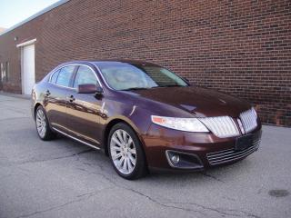 Used 2009 Lincoln MKS MKS AWD-ONE OWNER,ZERO ACCIDE for sale in North York, ON