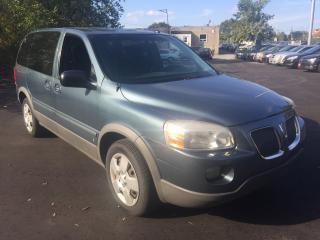 Used 2007 Pontiac Montana w/1SA/AUTO/7PASSENGER/LEATHER/GOOD CONDITION for sale in Scarborough, ON