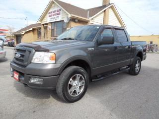Used 2005 Ford F-150 FX4 Crew Cab 4X4 5.4L Leather Certified for sale in Etobicoke, ON