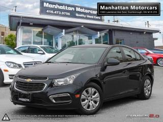 Used 2015 Chevrolet Cruze LT AUTO |BLUETOOTH|CAMERA|WARRANTY|22000KM for sale in Scarborough, ON