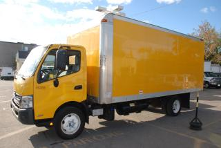 Used 2013 Hino 195 18 FT AL BOX, RAMP, LOADED for sale in Woodbridge, ON