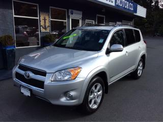Used 2011 Toyota RAV4 LTD for sale in Parksville, BC