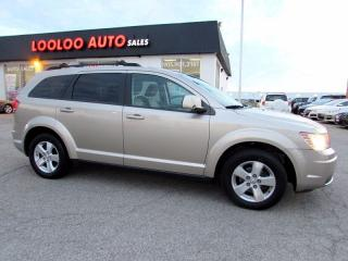 Used 2009 Dodge Journey SXT 7 PASSENGER 3.5L V-6 cyl  CERTIFIED 2YR WARRA for sale in Milton, ON