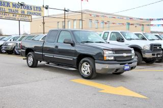Used 2004 Chevrolet Silverado 1500 LOW KMS 111KM for sale in Brampton, ON