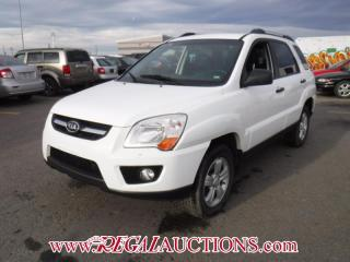 Used 2009 Kia SPORTAGE LX 4D UTILITY AWD V6 2.7L for sale in Calgary, AB