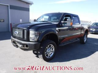 Used 2008 Ford F350SD HARLEY DAVIDSON CREW CAB 4WD 6.4L for sale in Calgary, AB