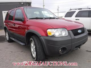 Used 2006 Ford ESCAPE XLT 4WD SPORT UTILITY 4-DR for sale in Calgary, AB