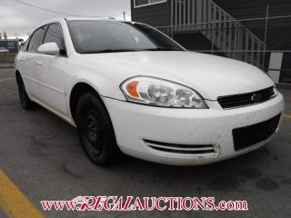 Used 2007 Chevrolet IMPALA  4D SEDAN for sale in Calgary, AB
