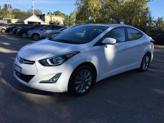 Used 2016 Hyundai ELANTRA SE * REAR CAM * SUNROOF * BLUETOOTH * LOW KM for sale in London, ON
