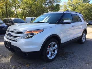 Used 2011 Ford EXPLORER LIMITED * AWD * LEATHER * 2 DVD'S * PANO SUNROOF * REAR PARKING SENSORS * BLUETOOTH * 7 PASS for sale in London, ON