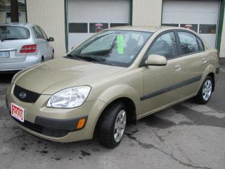 Used 2009 Kia Rio LX for sale in Brockville, ON