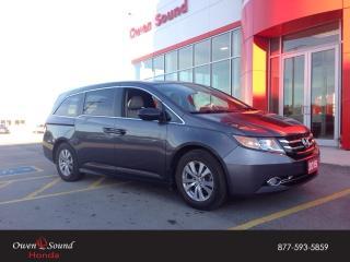 Used 2015 Honda Odyssey SE for sale in Owen Sound, ON