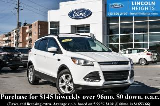 Used 2016 Ford Escape SE 4WD for sale in Ottawa, ON