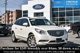 Used 2015 Buick Enclave Premium AWD for sale in Ottawa, ON