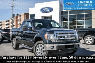 Used 2014 Ford F-150 XLT SuperCab 6.5-ft. Bed 4WD for sale in Ottawa, ON