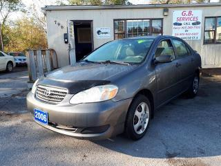 Used 2006 Toyota Corolla CERTIFIED for sale in Oshawa, ON