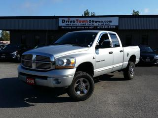 Used 2006 Dodge Ram 2500 SLT QUAD CAB 4X4  **5.9L CUMMINS DIESEL** for sale in Gloucester, ON