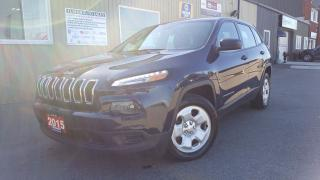 Used 2015 Jeep Cherokee SPORT-BLUETOOTH-INFO SYSTEM-OFF LEASE for sale in Tilbury, ON