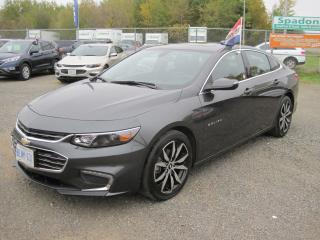 Used 2016 Chevrolet Malibu LT True North Edition for sale in Thunder Bay, ON