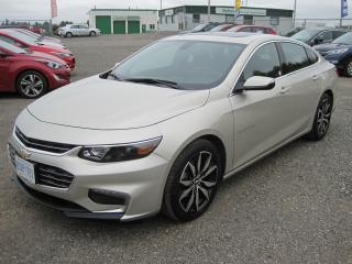 Used 2016 Chevrolet Malibu LT for sale in Thunder Bay, ON