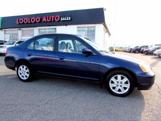 Used 2003 Honda Civic LX Automatic AC Power Windows for sale in Milton, ON