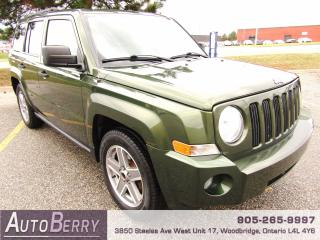 Used 2007 Jeep Patriot SPORT - 4WD - 2.4L for sale in Woodbridge, ON