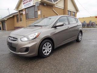 Used 2013 Hyundai Accent GLS 1.6L Automatic Heated Seats ONLY 38,000KMs for sale in Etobicoke, ON