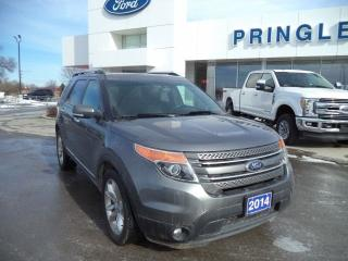 Used 2014 Ford Explorer LIMITED for sale in Napanee, ON