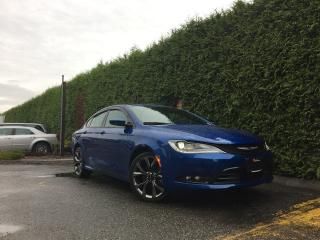 Used 2015 Chrysler 200 S + HEATED FT SEATS + NAV + SUNROOF + BACK-UP CAMERA for sale in Surrey, BC