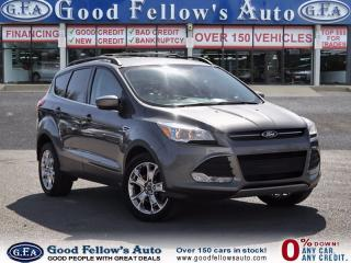 Used 2014 Ford Escape SE MODEL, 4WD, LEATHER SEATING, REARVIEW CAMERA for sale in North York, ON