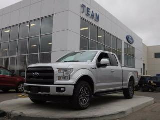 Used 2016 Ford F-150 LARIAT, 502A, SYNC3, NAV, 360 CAMERA, MOONROOF, ADAPTIVE CRUSE, TAILGATE STEP, HEATED/COOLED FRONT SEATS, LTHER, 4X4 for sale in Edmonton, AB