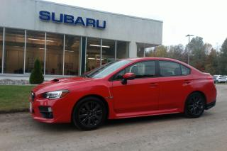 Used 2016 Subaru WRX w/Sport Pkg for sale in Minden, ON